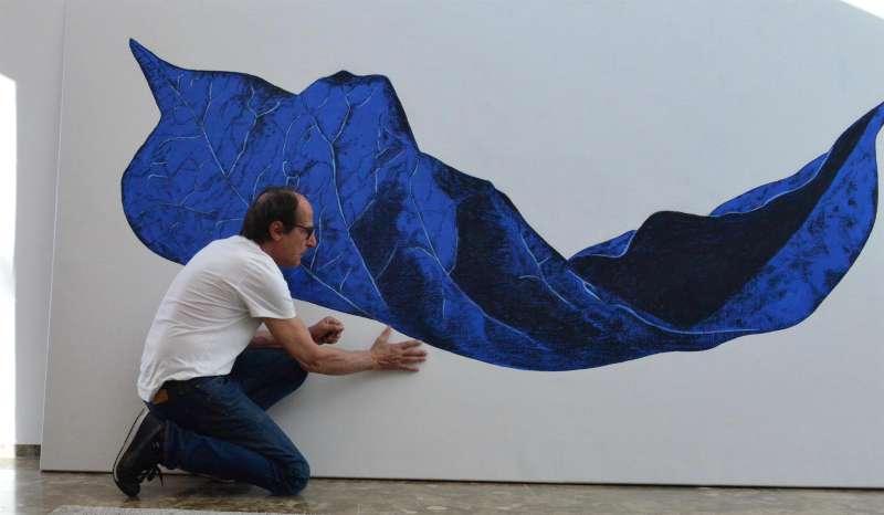 """Galerie Porcia Ausstellung: Manfred Bockelmann """"Baum und Blatt"""" Galerie Porcia"""