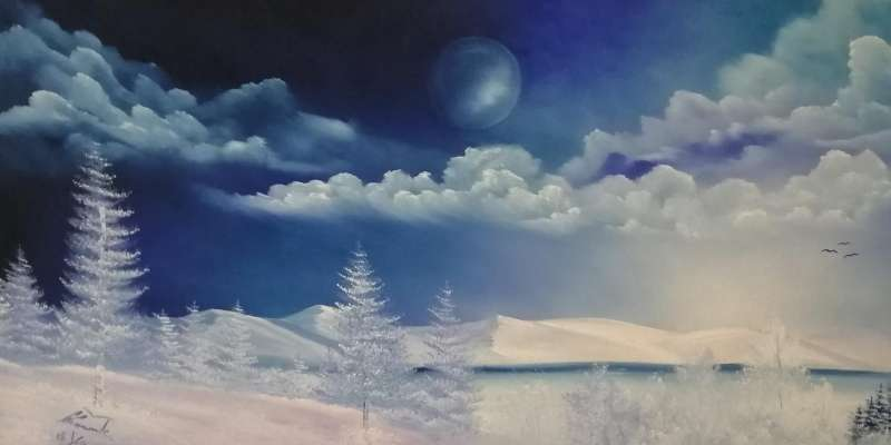 ABGESAGT: Ölmalerei | Landschaft | Winterstimmung