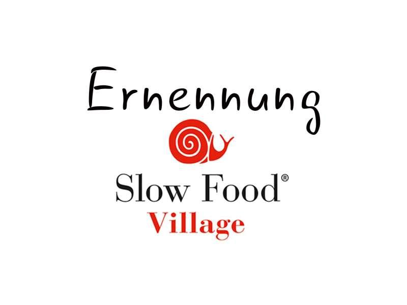 Seeboden wird Slow Food Village - Verleihung