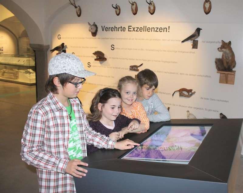 Spurensuche für Kinder im Museums im Lavanthaus